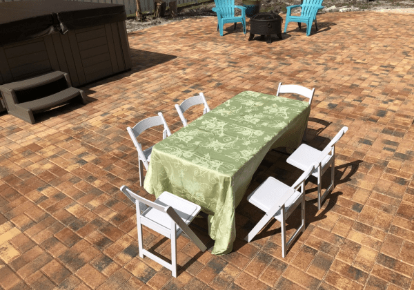 Table and Padded Chairs Kids Set