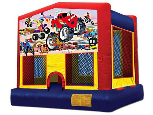 PRP-J03 Monster Truck Panel Module Bounce House