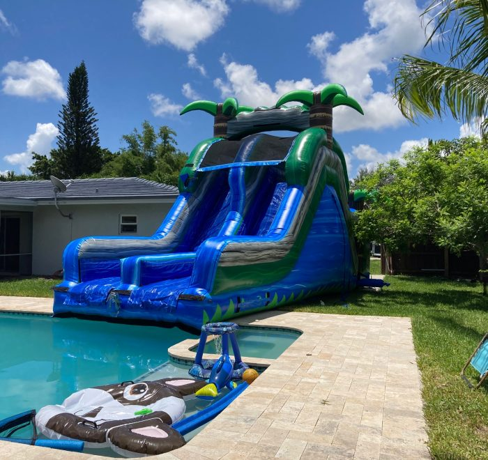 Blue Crush Double Lane Inside your Pool